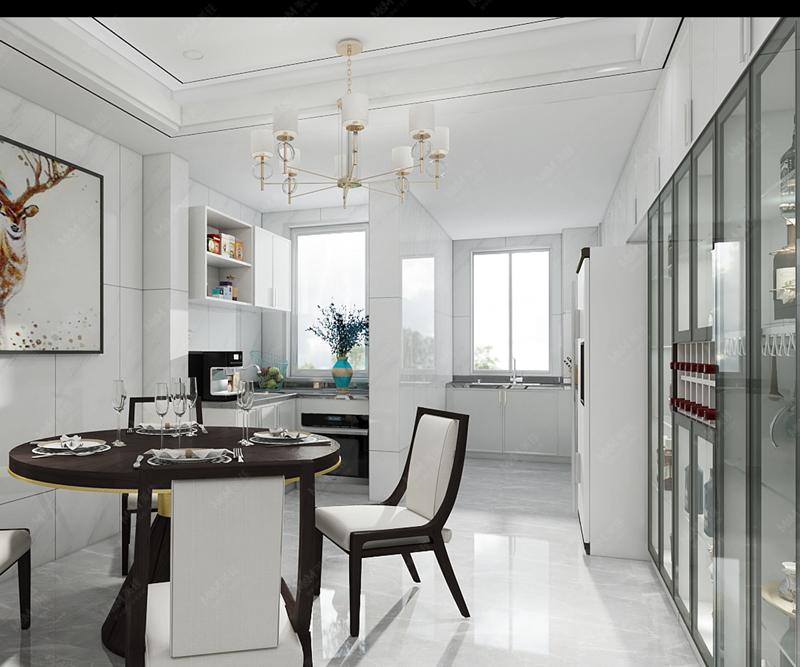 美佳厨柜—轻奢极简风家居设计